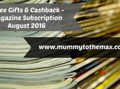 Magazine Subscription Free Gift Bargains August 2016