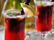 Blueberry Mojito Mocktail, Recipe Alcoholic Cocktail