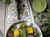 Quinoa Mango Salad #Food World