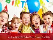 Mess Free Filled Birthday Party Games Kids