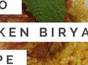 """Paleo Indian """"Rice"""" Recipe Chicken Biryani"""