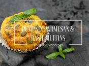 Roasted Pumpkin, Parmesan Basil Muffins