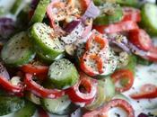 Crunchy Veggie Olive Buttermilk Salad