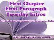 First Chapter Paragraph (August