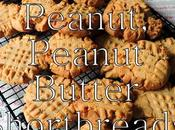Peanut Butter Shortbread Biscuits