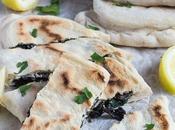 Feta, Spinach Mushroom Gozleme Recipe Redux