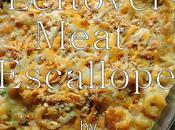 Leftover Meat Escallope