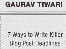 Write Incredible Blog Post Headlines