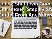 Remotely Shutdown Computer With Phone (Step Step Guide).