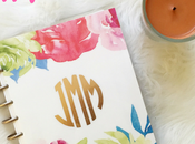 Rose Gold Happy Planner