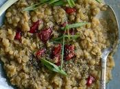 Thick Lentils Peppers
