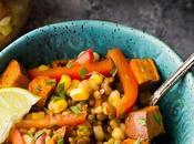 Southwestern Sweet Potato Lentil Salads