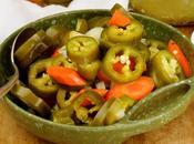 Pickled Jalapeños Escabèche