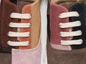 Beauty Conflict: Comme Garçons Shirt Multicolor Suede Patchwork Sneakers