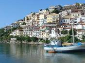 Kavala Greece Combination Contemporary Historical Cultures