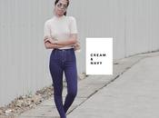 Cream Navy