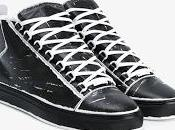 Painted Character: Balenciaga Arena Printed High-Top Leather Sneakers