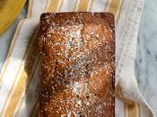 Browned Butter Whiskey Banana Bread with Coconut