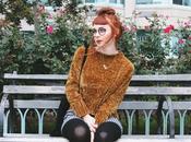 Gold Mustard Velvet Chenille Knit