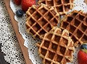 Eggless Vegan Wholemeal Waffles