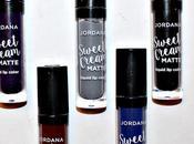 Jordana Sweet Cream Matte Liquid Color Shades Halloween 2016