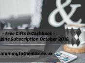Magazine Subscription Free Gift Bargains October 2016