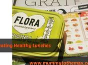 Creating Healthy Lunches With #FloraLunchboxChallenge