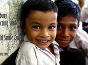 Busy Collecting Smiles #WorldSmileDay