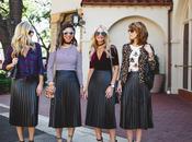 Chic Every Pleated Midi Skirt