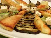 Vegetarian Grilled Marinated Courgettes Aubergine Dinner!