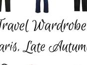 Travel Wardrobe Planning: Paris Late Autumn