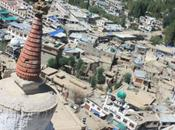 DAILY PHOTO: Leh, from Over Stupa's Shoulder