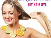 Lighten Hair with Lemon Juice: