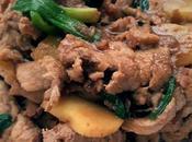 Stir Pork with Ginger Scallion 姜葱猪肉