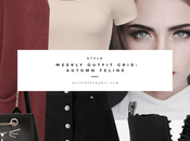 Weekly Outfit Grid: Autumn Feline