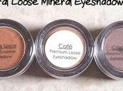 Natural Premium Loose Mineral Shadows Review, Price Swatches