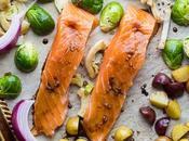 Mediterranean Salmon Sheet Dinner