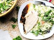 Kale Cabbage Slaw Recipe with Avocado Buttermilk Dressing