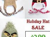 FLASH SALE! Santa, Reindeer Little Grinch Crochet Pattern 3-Pack Sale Limited Time.