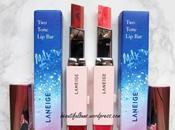 Swatches: Laneige Tone Milkyway Fantasy Christmas 2016 Bloody Dress Mystic Rose