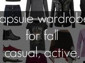 Capsule Wardrobe: Fall Casual Travel