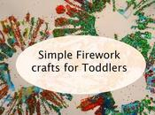Simple Firework Crafts Toddlers