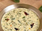 Moru Keerai Spinach Coconut Yogurt Gravy