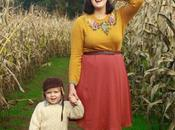 Tobi Skirt, Floral Sweater, Trip Corn Maze