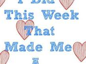 Things This Week That Made Happier Blogger