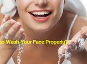 Wash Your Face Properly? Mistakes Avoid