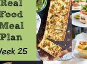 Real Food Meal Plan Week