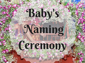 Baby's Naming Ceremony