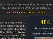 Russian Orthodox Scholar Larisa Micallef Speak Saint Nicholas Wonderworker Cathedral