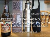 Pretty Shiny Packaging, Cool Capsule Bottle Koozie